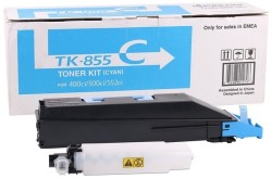 Kyocera - Kyocera TK-855 Mavi Orjinal Fotokopi Toneri