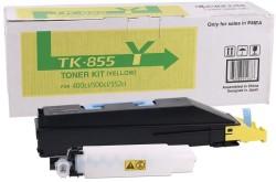 Kyocera - Kyocera TK-855 Sarı Orjinal Fotokopi Toneri