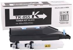 Kyocera - Kyocera TK-855 Siyah Orjinal Fotokopi Toneri