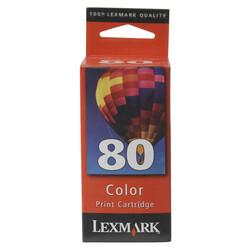 Lexmark - Lexmark 80-12A1980 Renkli Orjinal Kartuş