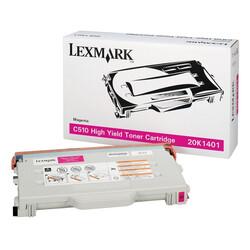 Lexmark - Lexmark C510-20K1401 Kırmızı Orjinal Toner