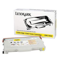 Lexmark - Lexmark C510-20K1402 Sarı Orjinal Toner