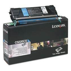 Lexmark - Lexmark C522-C5220CS Mavi Orjinal Toner