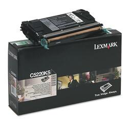 Lexmark - Lexmark C522-C5220KS Siyah Orjinal Toner