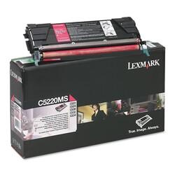 Lexmark - Lexmark C522-C5220MS Kırmızı Orjinal Toner