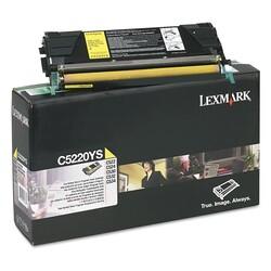 Lexmark - Lexmark C522-C5220YS Sarı Orjinal Toner