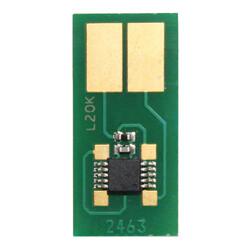 Lexmark - Lexmark C522-C5220YS Sarı Toner Chip