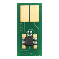 Lexmark - Lexmark C522-C5220KS Siyah Toner Chip