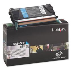 Lexmark - Lexmark C524-C5240CH Mavi Orjinal Toner Yüksek Kapasiteli