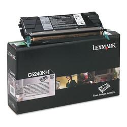 Lexmark - Lexmark C524-C5240KH Siyah Orjinal Toner Yüksek Kapasiteli