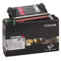 Lexmark - Lexmark C524-C5240MH Kırmızı Orjinal Toner Yüksek Kapasiteli
