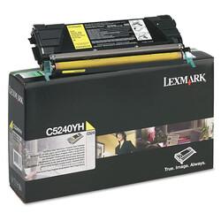 Lexmark - Lexmark C524-C5240YH Sarı Orjinal Toner Yüksek Kapasiteli