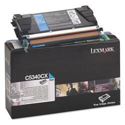 Lexmark - Lexmark C534-C5340CX Mavi Orjinal Toner Extra Yüksek Kapasiteli