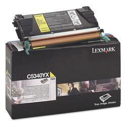 Lexmark - Lexmark C534-C5340YX Sarı Orjinal Toner Extra Yüksek Kapasiteli