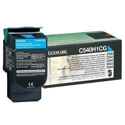 Lexmark - Lexmark C540-C540H1CG Mavi Orjinal Toner Yüksek Kapasiteli
