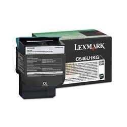 Lexmark - Lexmark C546-C546U1KG Siyah Orjinal Toner Extra Yüksek Kapasiteli