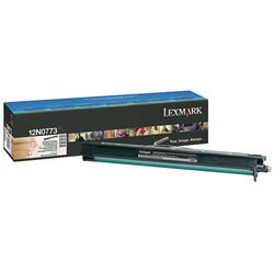 Lexmark - Lexmark C910-12N0773 Siyah Orjinal Drum ve Developer Ünitesi