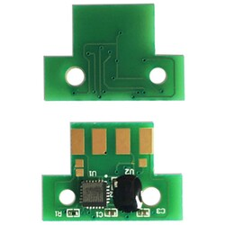 Lexmark - Lexmark CX410-80C8HY0 Sarı Toner Chip Yüksek Kapasiteli