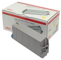Oki - Oki C7100-41963083 Sarı Orjinal Toner