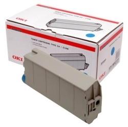 Oki - Oki C7100-41963085 Mavi Orjinal Toner