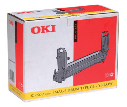 Oki - Oki C7200-41304109 Orjinal Sarı Drum Ünitesi