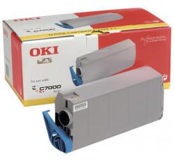 Oki - Oki C7200-41304287 Mavi Orjinal Toner