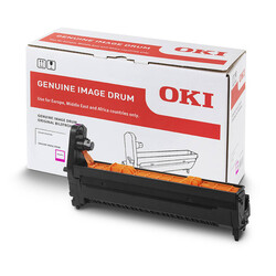 Oki - Oki ES7411-01275102 Kırmızı Orjinal Drum Ünitesi