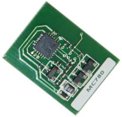 Oki - Oki MC760-45396304 Siyah Toner Chip