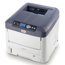 Oki - Oki Pro 7411WT 44205445 Beyaz Tonerli Neon Laser Yazıcı
