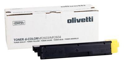 Olivetti D-Color MF-2603 Sarı Orjinal Fotokopi Toner