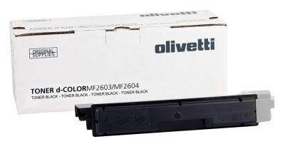 Olivetti D-Color MF-2603 Siyah Orjinal Fotokopi Toner