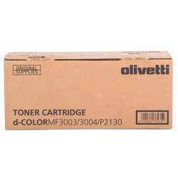 Olivetti - Olivetti D-Color P-2130 Siyah Orjinal Toner