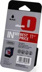 Olivetti - Olivetti IN-501 Siyah Orjinal Kartuş