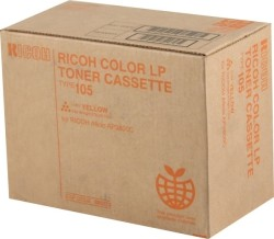 Ricoh - Ricoh Aficio CL-7000 Sarı Orjinal Fotokopi Toner