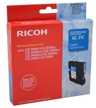 Ricoh Aficio GC-21C Mavi Orjinal Kartuş