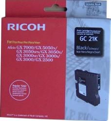 Ricoh - Ricoh Aficio GC-21K Siyah Orjinal Kartuş