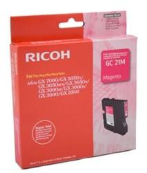 Ricoh - Ricoh Aficio GC-21M Kırmızı Orjinal Kartuş
