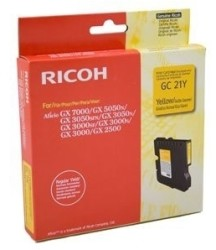 Ricoh - Ricoh Aficio GC-21Y Sarı Orjinal Kartuş