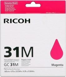 Ricoh - Ricoh Aficio GC-31M Kırmızı Orjinal Kartuş