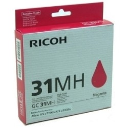 Ricoh - Ricoh Aficio GC-31MH Kırmızı Orjinal Kartuş