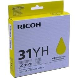 Ricoh - Ricoh Aficio GC-31YH Sarı Orjinal Kartuş