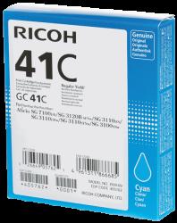 Ricoh - Ricoh Aficio GC-41C Mavi Orjinal Kartuş