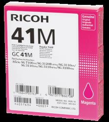 Ricoh - Ricoh Aficio GC-41M Kırmızı Orjinal Kartuş