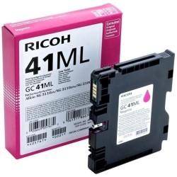 Ricoh - Ricoh Aficio GC-41ML Kırmızı Orjinal Kartuş