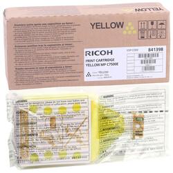 Ricoh - Ricoh Aficio MP-C6000 Sarı Orjinal Fotokopi Toner