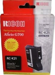 Ricoh - Ricoh Aficio RC-K21 Siyah Orjinal Kartuş