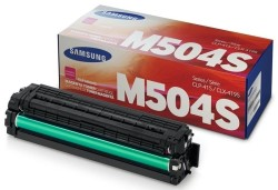 Samsung - Samsung CLP-415/CLT-M504S/SU296A Kırmızı Orjinal Toner