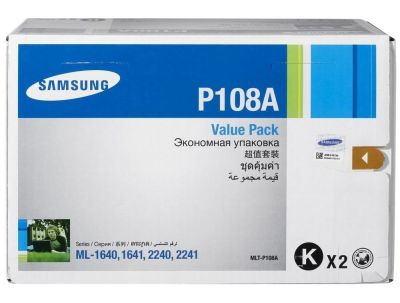Samsung ML-1640/MLT-P108A Orjinal Toner Çiftli Paket