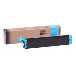 Sharp - Sharp DX-C38GTC Mavi Muadil Fotokopi Toner