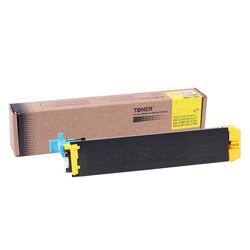 Sharp - Sharp DX-C38GTY Sarı Muadil Fotokopi Toner